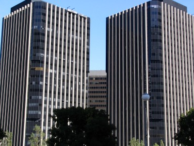 Rt. 66: Century City, Twin Towers