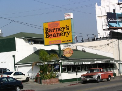 Rt. 66: West Hollywood, Barney's Beanery