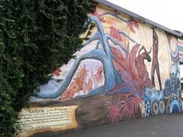 Rt. 66: West Hollywood mural, Clockworks