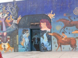 Rt. 66: West Hollywood mural, Ron Works 1