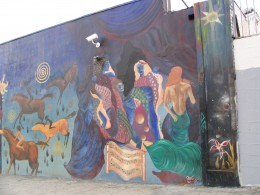 Rt. 66: West Hollywood mural, Ron Works 2