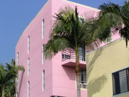 Rt. 66: West Hollywood, pink building