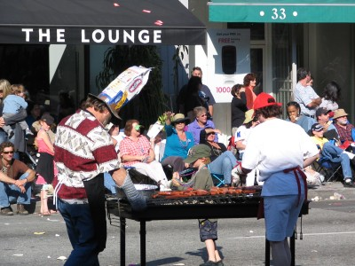 2008 Doo-Dah Parade: Barbecue and Hibachi Marching and Drill Team