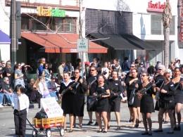 2008 Doo-Dah Parade: Dead Robert Palmer Girls