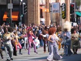 2008 Doo-Dah Parade: Disco Drill Team