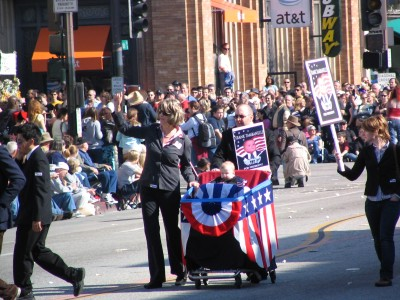 2008 Doo-Dah Parade: Frank Tambanelli for President