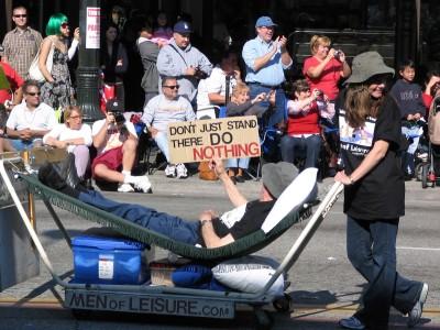 2008 Doo-Dah Parade: Men of Leisure