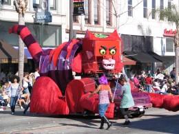 2008 Doo-Dah Parade: The Cat Float 1