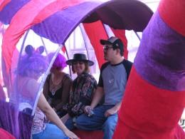 2008 Doo-Dah Parade: The Cat Float 3
