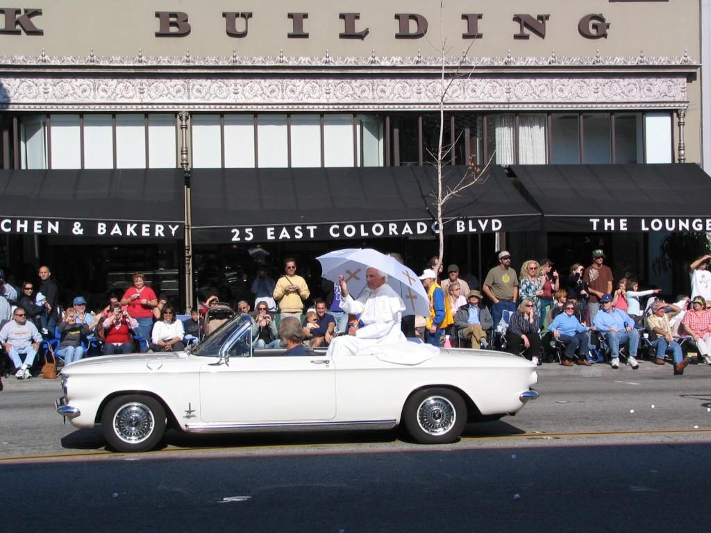 2008 Doo-Dah Parade: The Pope