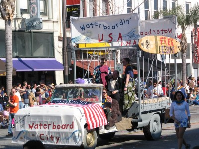2008 Doo-Dah Parade: Waterboard USA