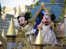 Disneyland and California Adventure Part 1: Mickey & Minnie