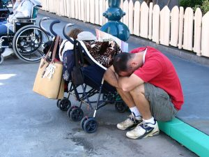 Disneyland and California Adventure Part 1: tuckered out