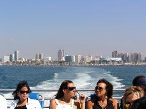 Down LA River Catalina: Long Beach beyond the wake
