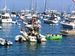 Down LA River Catalina: party boat