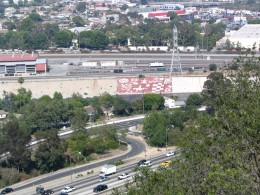 Down LA River Part 1: overlooking Frogtown