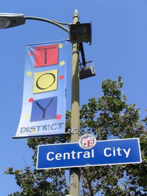 Down LA River Part 4: Toy District banner