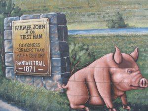 Down LA River Part 5: Farmer John First Ham mural