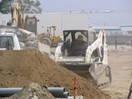 Down LA River Part 5: bulldozer