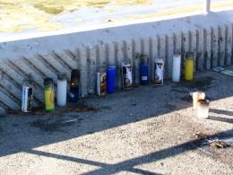 Down LA River Part 8: sidewalk memorial
