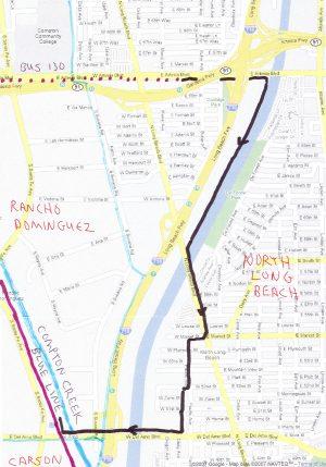 Down LA River Part 9: google map