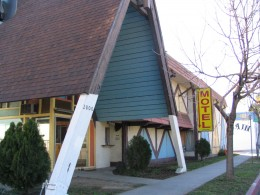 Rt. 66: Colorado Blvd: A-Frame Motel