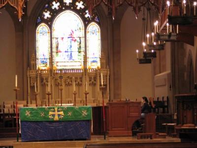 Rt. 66: Colorado Blvd: All Saints Episcopal Church organist