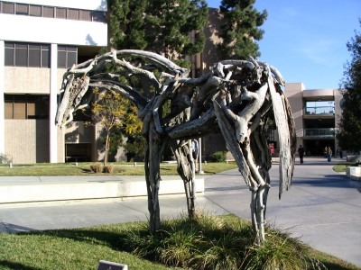 Rt. 66: Colorado Blvd: Driftwood Horse sculpture