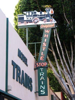 Rt. 66: Colorado Blvd: Whistle Stop Trains
