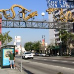 Rt 66: LA: Chinatown Dragon Gate John Varley