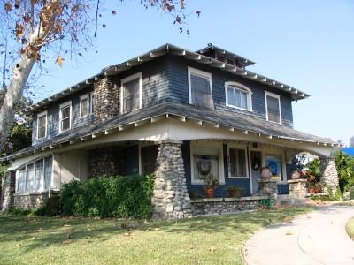 Rt 66: LA: Craftsman house