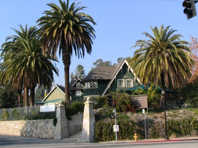 Rt 66: LA: La Casita Verde