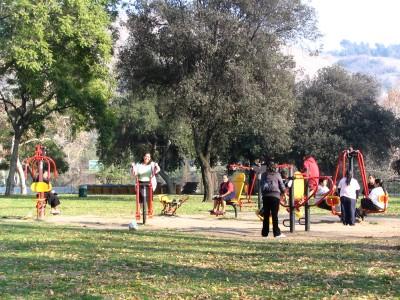 Rt 66: LA: exercise park