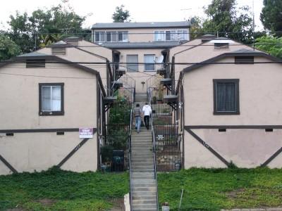 Rt. 66: Echo Park - climbing stairs