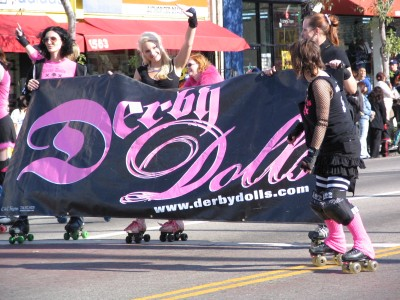 Rt. 66: Echo Park - Holiday Parade, Derby Dolls