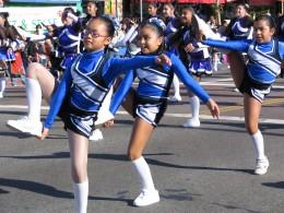 Rt. 66: Echo Park - Holiday Parade, leg lifts
