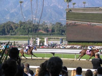 Santa Anita 2008: Five Gold Bars to win