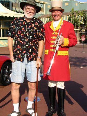 Santa Anita 2008: John Varley with Trumpeter