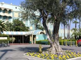 Santa Anita 2008: Turf Club entrance