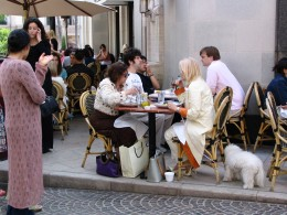 Sunset Boulevard - Part 12.5: Rodeo Drive, sidewalk dining