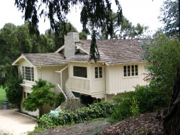 Sunset Boulevard - Part 17.5: Will Rogers State Historic Park: back of the house