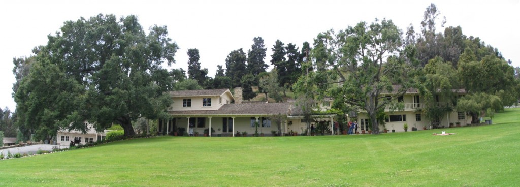 Sunset Boulevard - Part 17.5: Will Rogers State Historic Park: house panorama