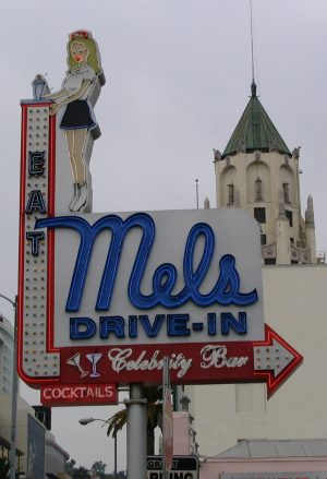 Sunset Boulevard - Part Eight: Out of the closet and deep into Hollywood: Mel's Drive In