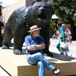 Sunset Boulevard - Part Fifteen: UCLA, John Varley, Bruins sculpture 2