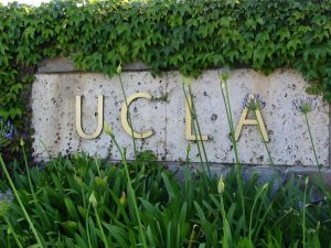 Sunset Boulevard - Part Fifteen: UCLA, sign