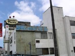 Sunset Boulevard - Part Five: The Music Box, Sunset Pacific Motel 1