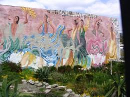 Sunset Boulevard - Part Five: The Music Box, dancers mural
