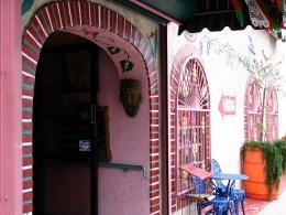 Sunset Boulevard - Part Five: The Music Box, pink Mexican restaurant