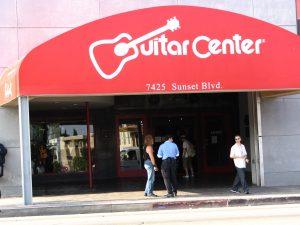 Sunset Boulevard – Part Nine: La Brea to Fairfax: Guitar Center
