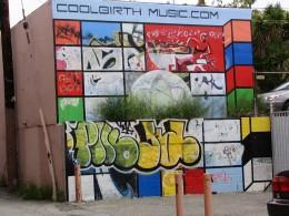 Sunset Boulevard - Part Six: Hooray! Hollywood! Coolbirth Music mural